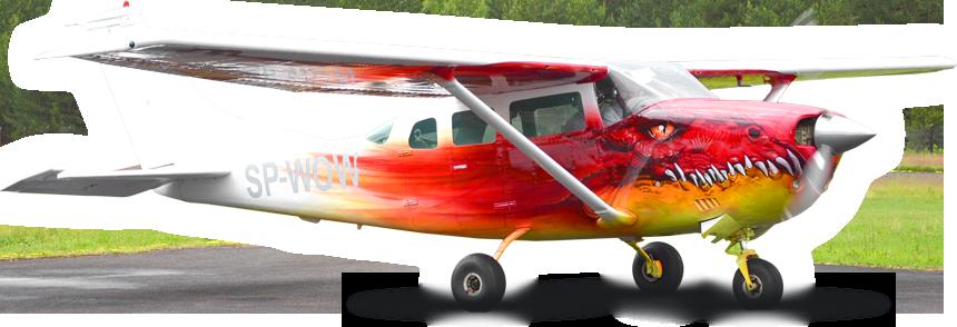 Skoki spadochronowe samolot