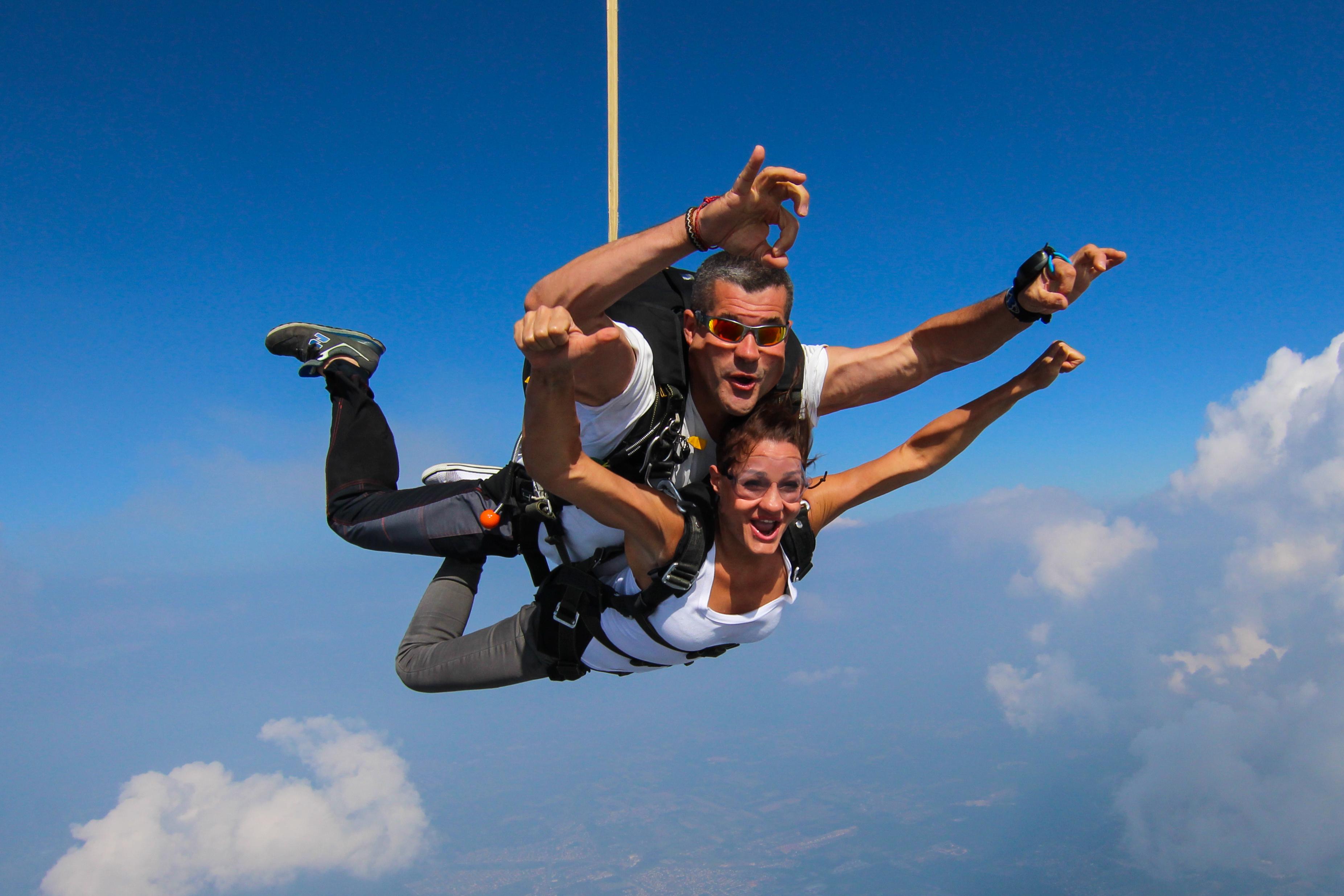 skok ze spadochronem dla 2 osób
