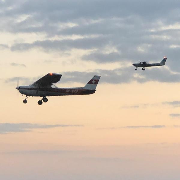 Lot samolotem 30 min dla 3 osób Nasze spadochrony