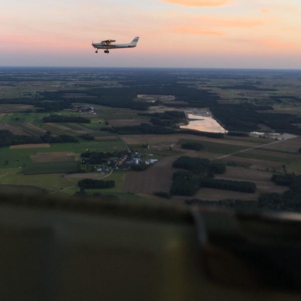 Lot samolotem 30 min dla 2 osób Nasze spadochrony